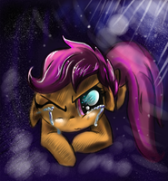 Scootaloo Cry   by EglantineRay