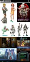 GhostBusters Wii Concept Art by tasart