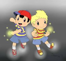 Ness And Lucas by TheChipMunksFan
