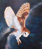 Barn Owl by CrispetyCrunch