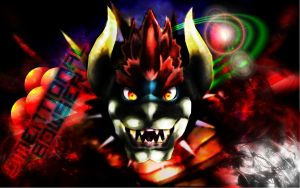 Dimentional Bowser Wallpaper by neutex