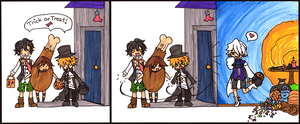 Ph Comic: Trick or Treat by mistoftime