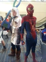 Deity and Spidey by Crowbariswin