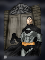 The Dark Knight Unmasked by Blackmoonrose13