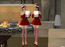 121219_Lara+Doppie_sing_Christmas_carol by McGaston