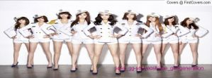 snsd genie Korean version facebook cover 4 by alisonporter1994