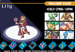 Lily's Trainer Card by Aerostar181