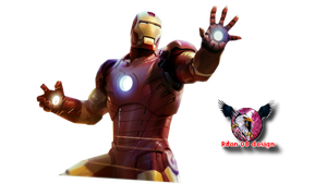 render iron man by riton08design