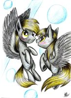 Derpy Hooves , and ...Derp? by Kobra333