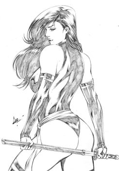 Psylocke by CaioMarcus-ART