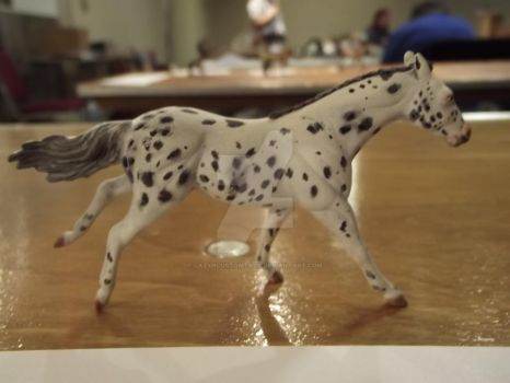 Stablemate polo pony--Breyer by LazyHcustomtack