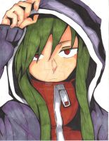 Mekakucity Actors Fan Art- Kido Tsubomi by InfinityYellowA