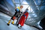Tidus and Auron by Alexcloudsquall
