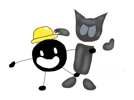 Mr Tapastic y Catart by Axcelito02