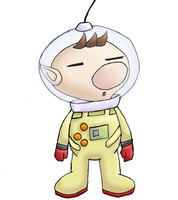 Captain Olimar by Cyber-Pixel