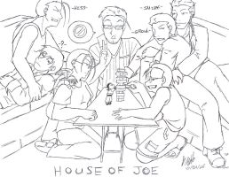 HOUSE OF JOE JENGA by GoldphishCrackers