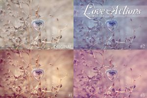 Love Actions Set by AndreeaRosse