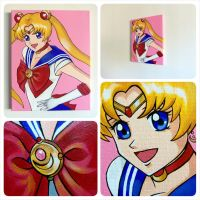Sailor Moon Painting by lonelymiracle