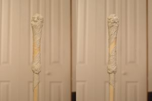 Harry Potter's wand - v2 wip by action-figure-opera