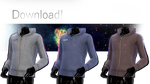 [MMD] TDA Adult Male Fitted Hoodie DOWNLOAD! by NephnaShine