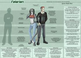 Felarian - Species Sheet by Ulario