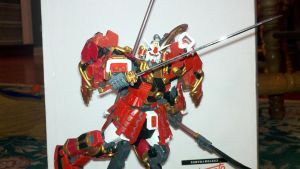 shin musha gundam pose 1 by ShinMushaGundam