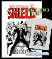 Agent Coulson Shirt by ninjaink