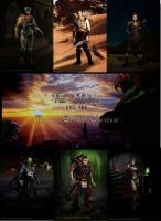 Masters of the universe by rainingcrow