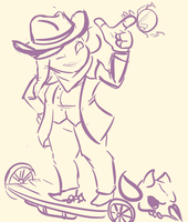 Cowgirl Coco Doodle by foxwolf333