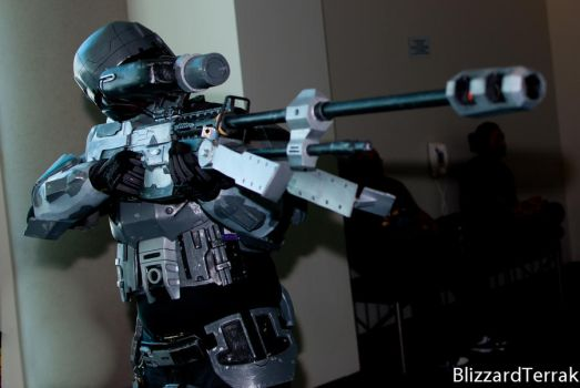 Me in my ODST Armor by Spartan308