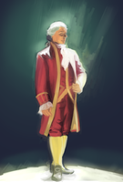 King George ( Hamilton ) Study by Ikolit