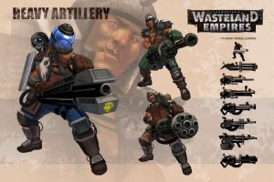 Wasteland Empires: Heavy by ArtofTu