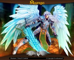 Moonga - Sword of Light's Fighter by moonga