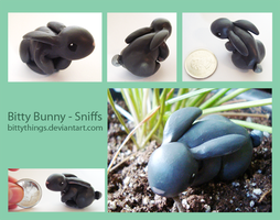 Bitty Bunny - Sniffs - SOLD by Bittythings