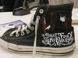 "BFMV ""Hand of Blood"" Chucks by airwavesxheartbeats"
