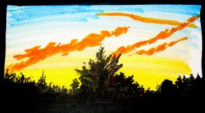 fire in the sky by giberwitz