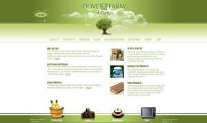 Olive Farm Web Interface by cihandikmen