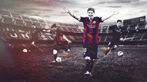 Leo messi wallpaper by Gx7Gfx