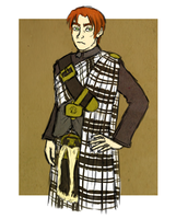 scottish uniform by frecklesmelody