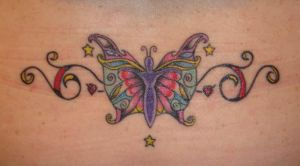 Butterfly Tattoo by ChaoticatCreations