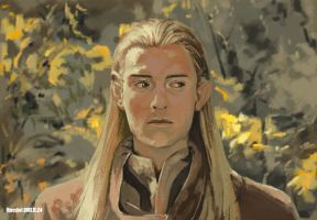Legolas Greenleaf by f-hangwei