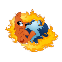 firepony (firefox icon) by EDplus