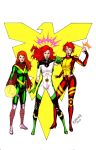 The Ladies Phoenix (colored) by MichaelBrower