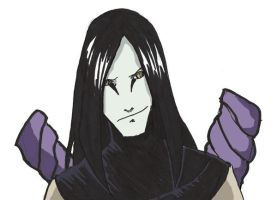 Orochimaru by Boy-Darkness