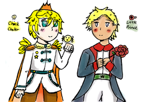 THe Little Prince and the Chick Prince by marimariakutsu