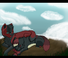 :: Always Next To You :: by Wolf-Alpha