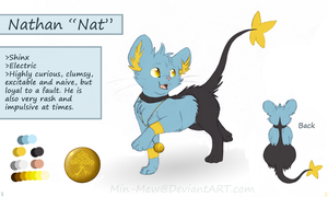 +PMD Ref: Nathan+ by min-mew