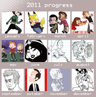 2011 Progress by kittypretzels15