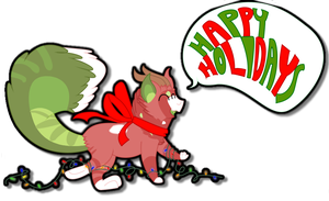 Merry Christmas and Happy Holidays by CatsInBlack