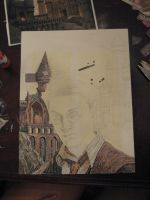 Harry Potter collage wip 5 by Mimitchki